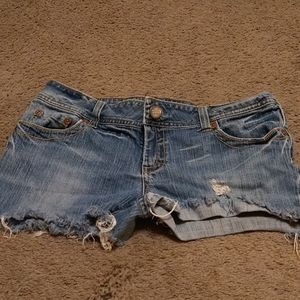 American Eagle Jean Shorts Size 12
